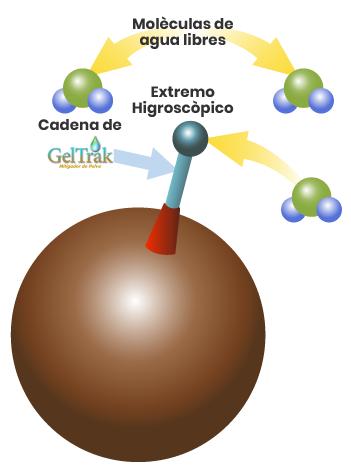 Proceso químico de Geltrak