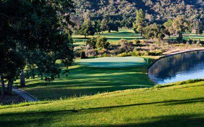 Ahorro en el uso del agua: En el Parque Soule, Ventura County, California, EE.UU